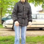 ... nach der Therapie deutlich weniger Kniebeugung beim Laufen und Stehen.